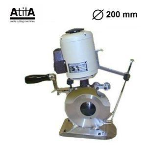 MAQUINA DE CORTE TEXTIL CIRCULAR ATILA 200 mm