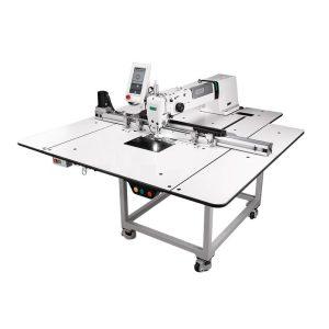 Maquina de coser área programable